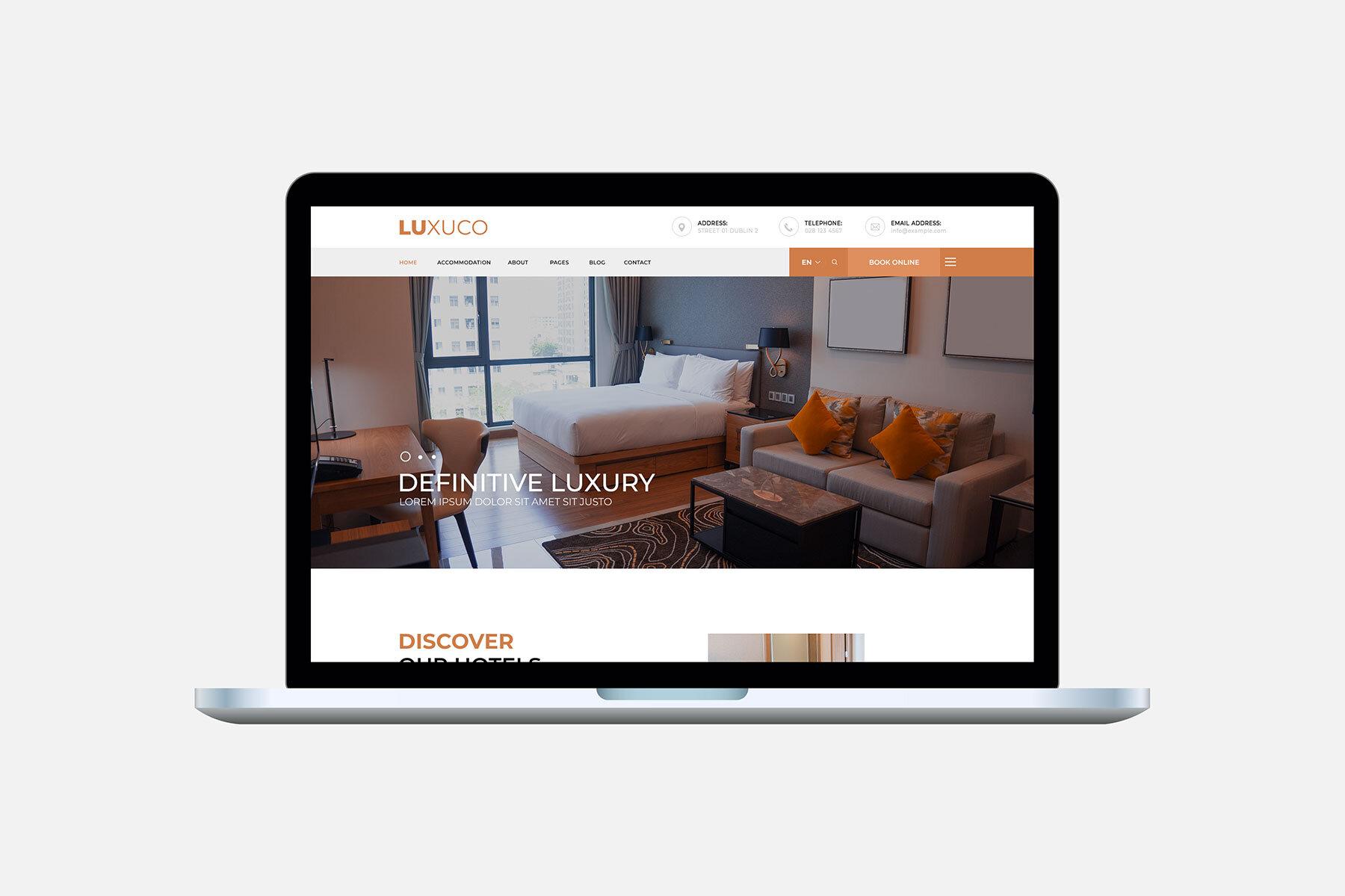 Luxuco WordPress Template