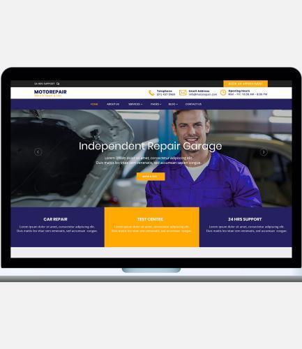 Motor Repair Template