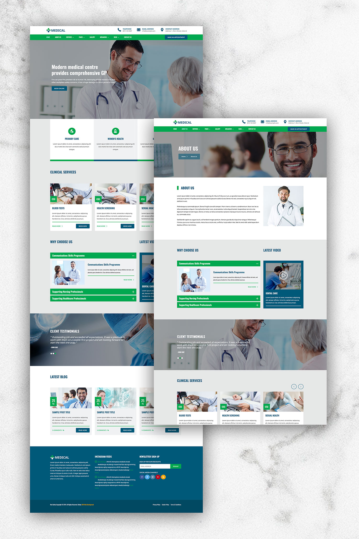 Medical HTML5 Template 2