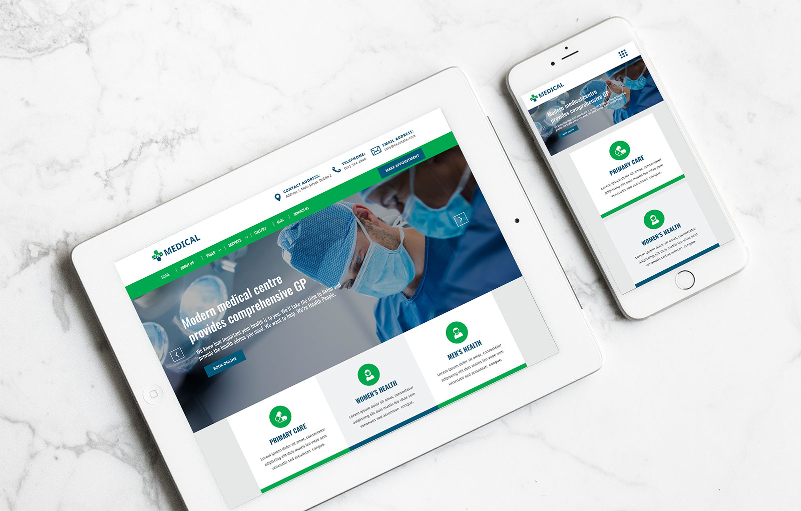 Medical HTML5 Template 1