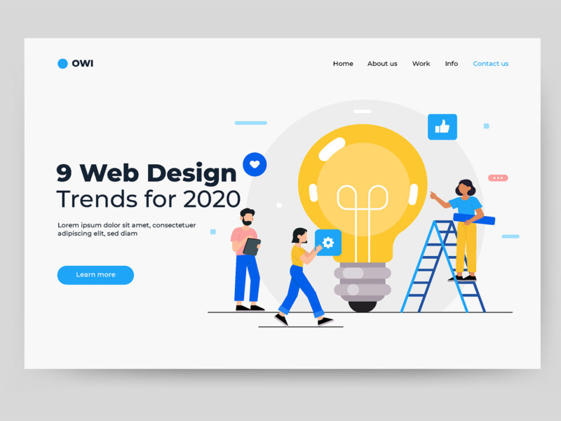 9 Website Design Trends For 2020 and Beyond