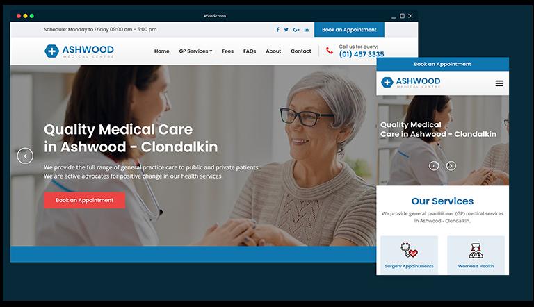 Affordable bespoke web design in Dublin