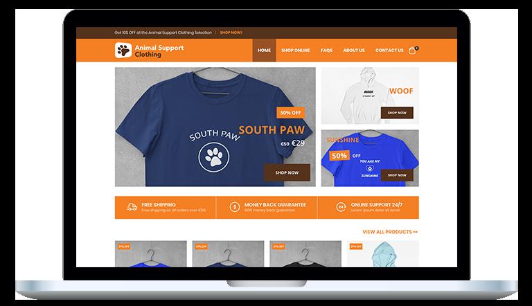 E-commerce website design in Dublin
