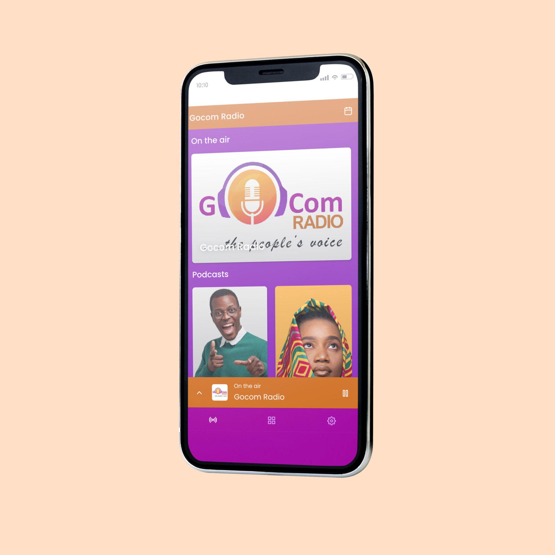 GOCOM – Online Radio